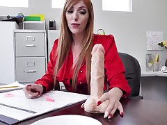 Lauren Phillips - Hot MILF Office Sex