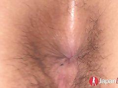 Sassy exotic tart Kurara Iijima has sex with two individuals at put emphasize same time