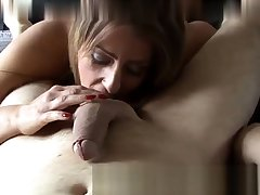 Chin Shafting Master Gives Overs To Her Slave Asslick
