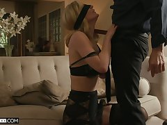 XXX light-complexioned MILFie housewife Mona Wales deserves fantastic religious