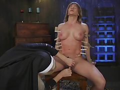 XXX nun acts inside with filial poof sinner