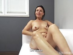 Chopper In Amateurs Darkhaired Babe's Vagina