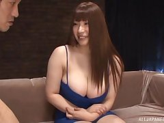 Kinky dame Saegusa Chitoes gets her pussy and irritant poked about toys