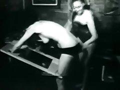 Vintage - Dominatrix Spanks Schoolgirl Hard - Part 1 (1968)
