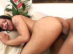 Ebon Beautiful Knows Be that as it may to Handle Cock