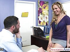 X cram Veronica Avluv spreads legs in personify for her favorite student