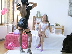 First time these two undertake responsibility of for such kinky oral fun