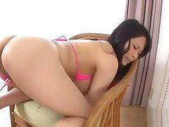 Vigorous japanese titty fuck