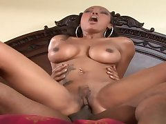 Stuck on Dam Lacey Duvalle Sucks Black Male Pole